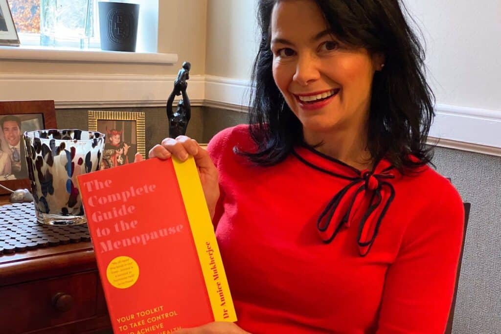 Dr Annice Mukherjee and The Complete Guide to the Menopause