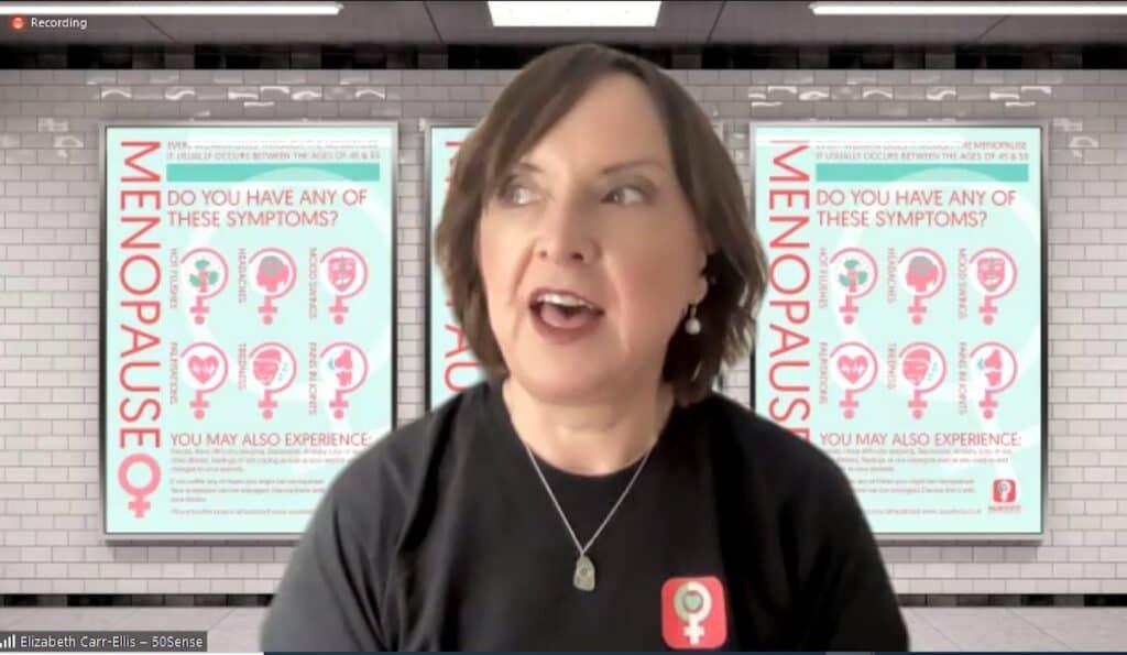 Menopause APPG Elizabeth Carr-Ellis 50Sense